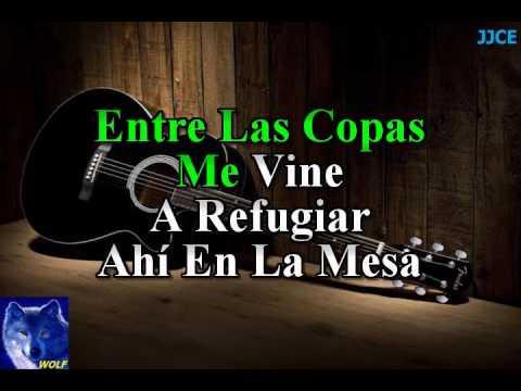karaoke  La Mesa Del Rincon  Tigres Del Norte