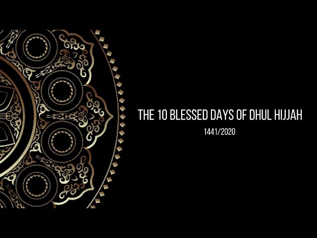 Faith Inspire Dhul Hijjah Moments #09 - Day Of Arafat - The Greatest Day Of The Year