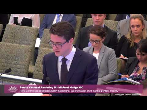 FSRC - Royal Commission Example - 16 April 2018