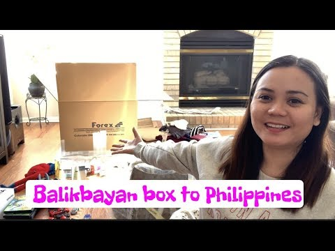 Balikbayan Box To Philippines | Forex Cargo