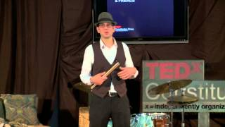Taming the beast - jazz drumming: Greg Wyser-Pratte at TEDxConstitutionDrive