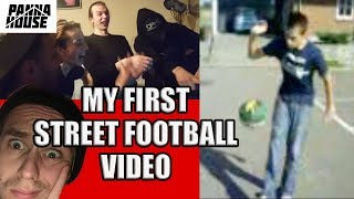 THE CREW REACTS TO MY FIRST VIDEO EVER | Proof that anyone can start street football