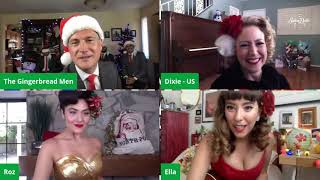 SATIN DOLLZ LIVE STREAM: Christmas in July feat. The Gingerbread Men July 25, 2020