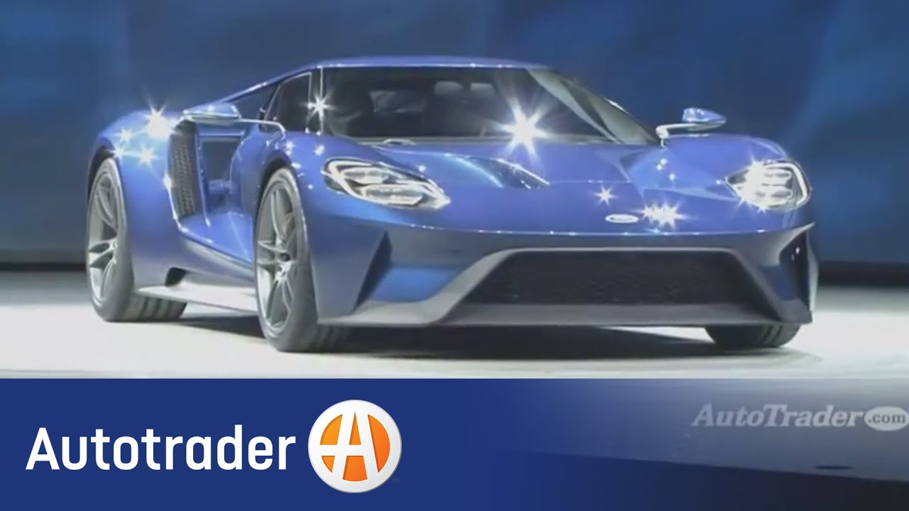 Ford Gt  Detroit Auto Show Autotrader
