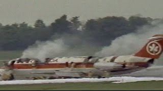 Air Canada fire: 23 die on burning plane making emergency landing at CVG
