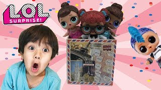 I MAILED MYSELF TO RYAN TOYSREVIEW WITH MY BEST FRIENDS  | L.O.L. Surprise dolls STOP MOTION SKIT