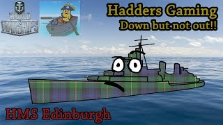 World of Warships - HMS Edinburgh - Death Comes to Us All!