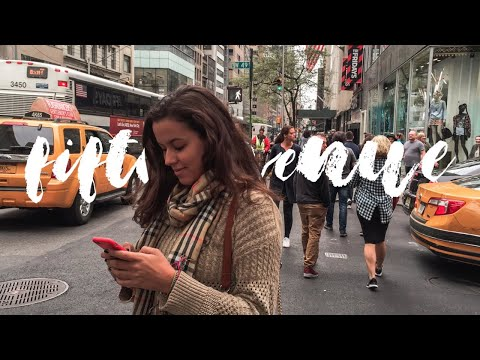 NYC TRAVEL DIARY: 5TH AVE //003