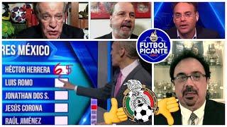 México vs Argelia. LAS CALIFICACIONES. Tecatito Corona y Raúl Jiménez SOBRESALEN  | Futbol Picante