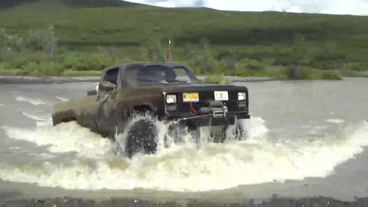 Lifted Chevy Trucks For Sale >> Lifted Chevrolet K30 CUCV M1028 Crossing River in Eureka - YouTube