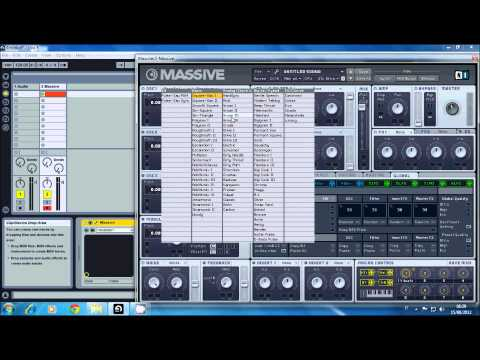 How To Make Toulouse Lead With Massive in Ableton [ENG/ITA]