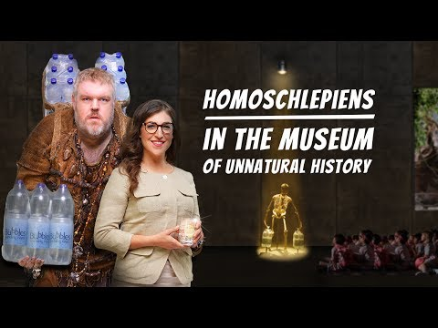 Thumbnail: Homo schlepiens in the Museum of Unnatural History – a tour with Mayim Bialik // EN