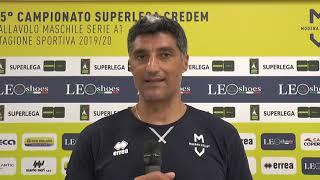 Andrea Giani: Voglio il nostro pubblico dentro al PalaPanini, senza di loro lo sport... non è sport