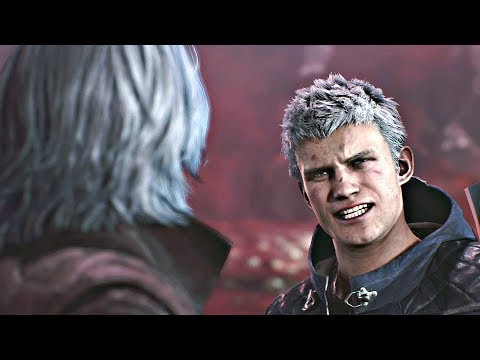 DEVIL MAY CRY 5 - Nero Finds Out Vergil Is His Father