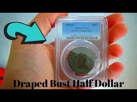 1806/5 Draped Bust Half Dollar PCGS F-12