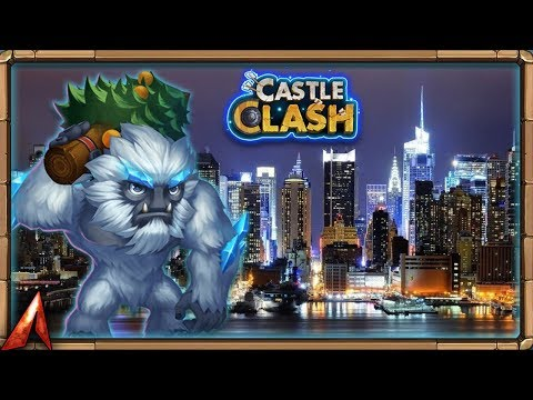 Back From New York! Test Server With Sasquatch! Castle Clash