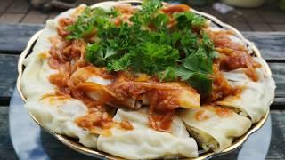 Ханум. Рецепт Приготовления.Ханум по-узбекски.Hanum rezept.Hanum recipe.