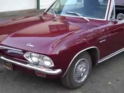 Turbocharger For Sale >> 1965 Corvair Corsa Convertible 4 speed Turbocharger Original Unrestored Car - YouTube