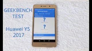 Huawei Y5 2017 Benchmark Test (Geekbench)