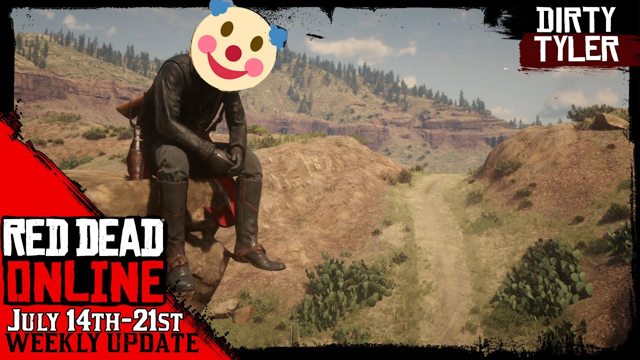 This Week's Red Dead Online Update July 14th | 50% $RDO on Legendary Bounties  RDR2