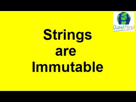 strings are immutable   C# Interview Questions   Csharp Interview Questions