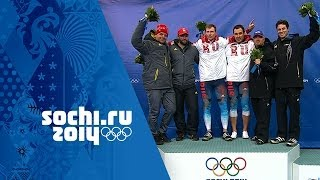 Bobsleigh - Men's Two-Man Heats 3 & 4 - Russia Win Gold | Sochi 2014 Winter Olympics