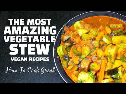 Best Veg Stew EVER – Vegetable Stew – Vegan Recipes – Easy Veg Stew