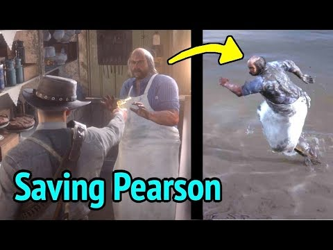 Pearson Quits Shopkeeper Life in Red Dead Redemption 2 (RDR2): Simon Pearson Goes To Blackwater thumbnail