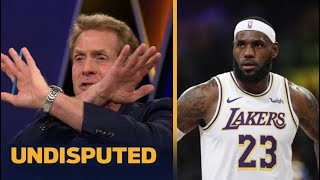 "Skip Bayless ""Unthinkable"" LeBron dominating NBA in ESPN's 1st RPM update of 2019-20 season"