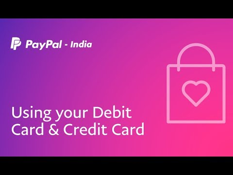 Using Your Debit Card Credit Card With Paypal