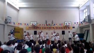 """Гимназия 1504/8""""А"""". Танец-Зарядка. Декабрь 2013."""