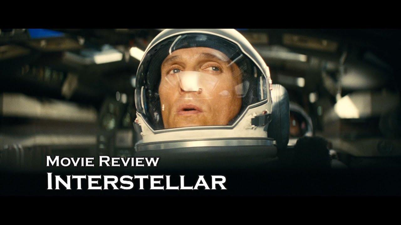 Movie Review: Interstellar with Matthew McConaughey - YouTube