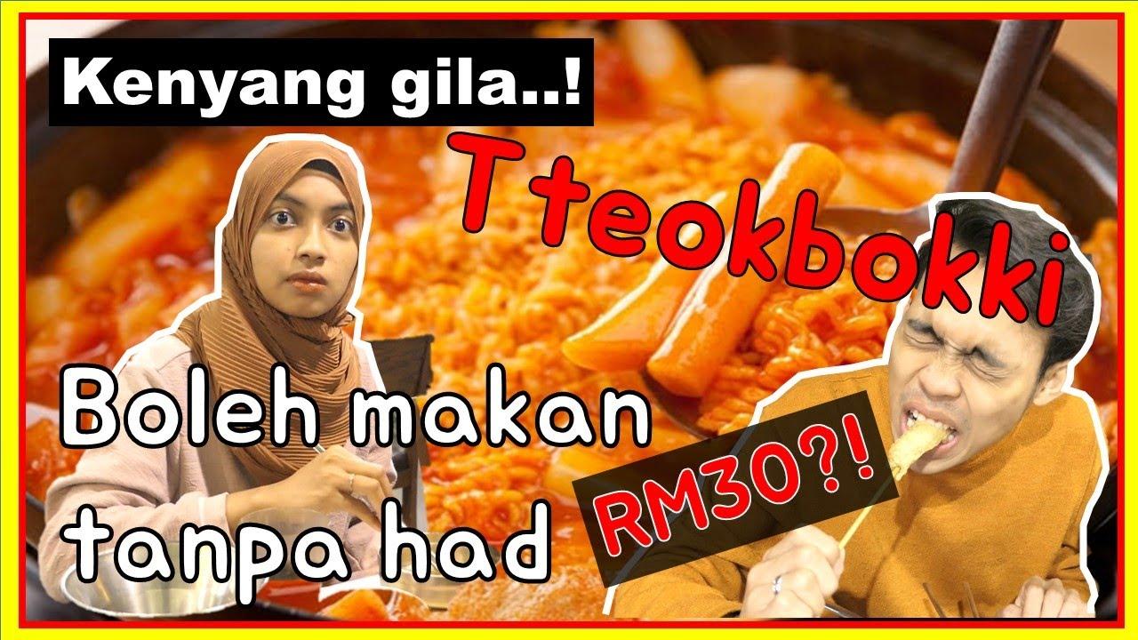 Malay friends visit Unlimited TTEOKBOKKI Buffet First time!! #tteokbokki #떡볶이 #Kfood