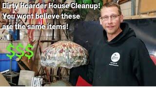 Hoarder House Honey Hole Conclusion & Cleanup Antiques Auction Preview Abandoned Storage Unit Part 5