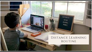 Our Distance Learning Routine