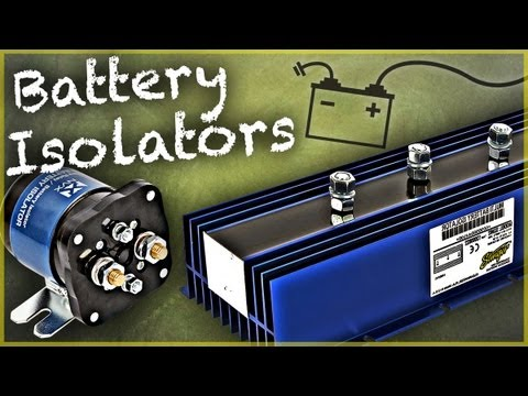 Car Audio Capacitor Wiring Diagram Battery Isolators Types Amp How To Install Car Audio 101