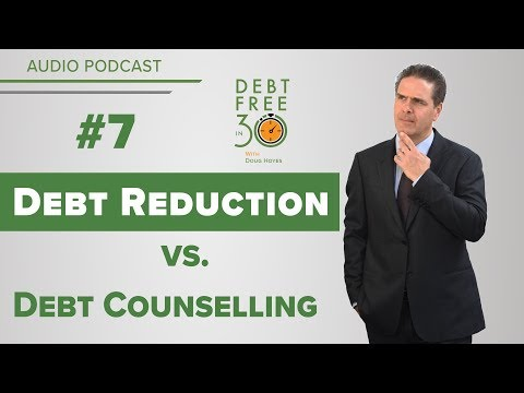 Debt Counselling vs Debt Reduction Companies