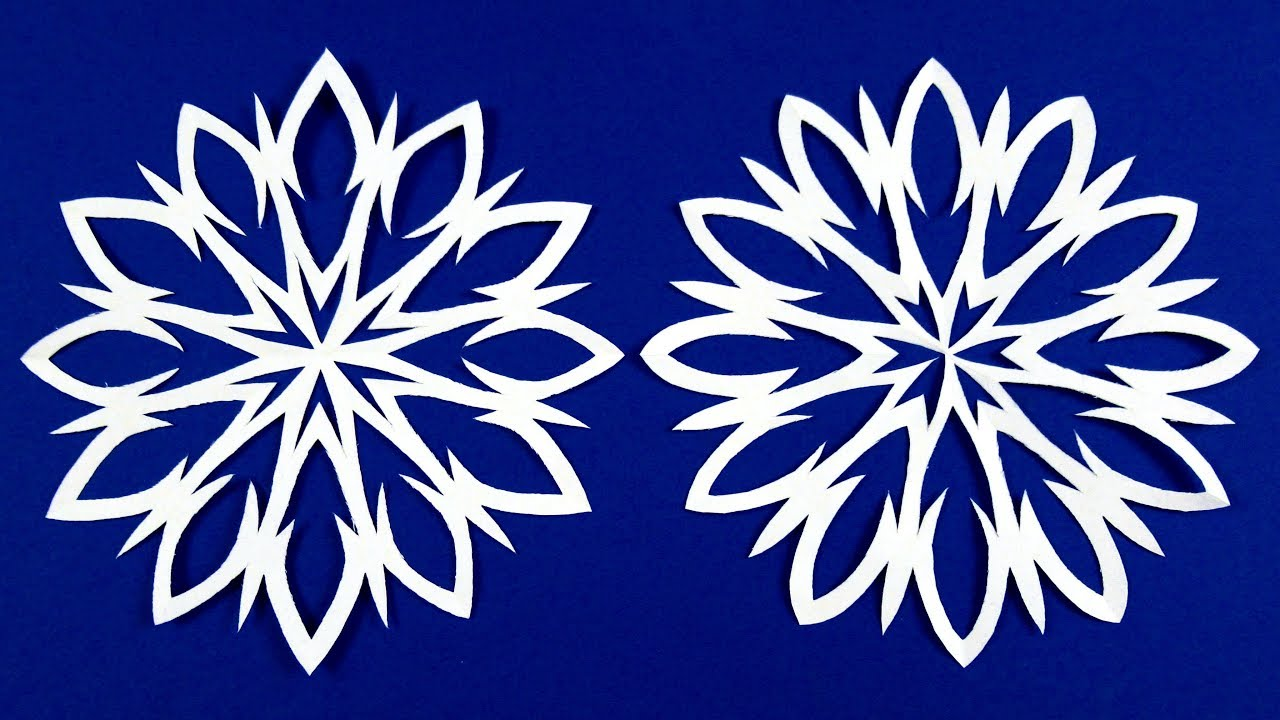 Snowflakes Crafts With Paper For Christmas Diy Star Craft Ideas Decorative Christmas Crafts