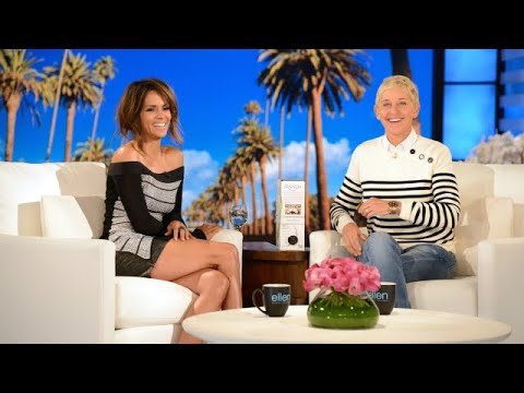 Ellen Helps Halle Berry 'Swipe Right'