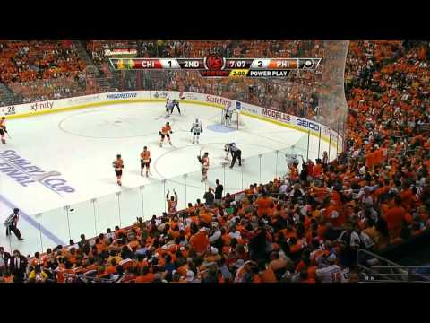 Stanley Cup Finals. Flyers vs Blackhawks (Game 4, 04 june 2010)