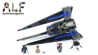 Lego Star Wars 75185 Tracker I - Lego Speed Build Review