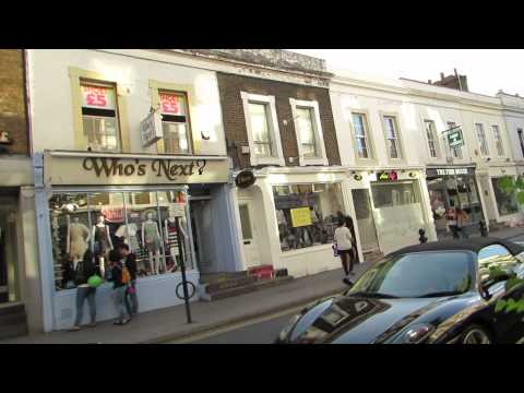 Walk from Notting Hill Gate to Portobello Road 1