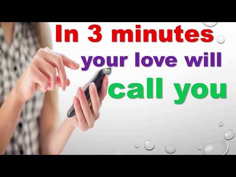Think About Your Love For 2 Minutes While Chanting This Spell-In Third Minute She Will Call You