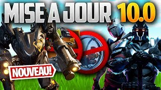 UPDATE SAISON X (10): ROBOT, BULLE SUPPRIMED, PASSE - Other on FORTNITE! (Patch Note 10.0)