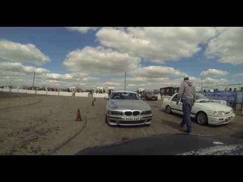 Classic ford show 2013 drift taxi rx7 ali cox