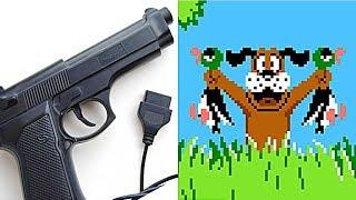 Как работает пистолет от приставки Денди?