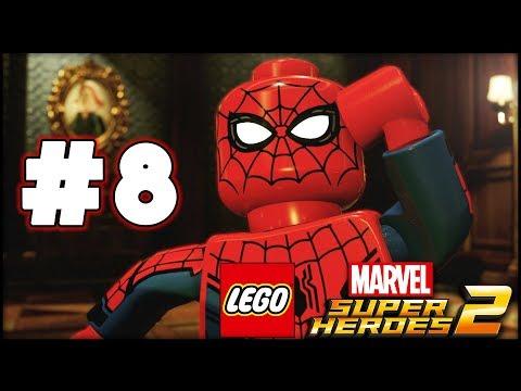 LEGO Marvel Superheroes 2 - Part 8 - The Sanctum! (HD Gameplay Walkthrough)