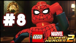 LEGO Marvel Superheroes 2 - Part 8 - The Sanctum! (HD Gameplay Walkthrough)