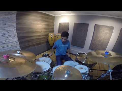 Drum Cam ensaio Malbec Trio - Rodrigo Stanck This Girl - Kungs vs Cookin on 3 Burners