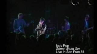 """Iggy Pop - """"Some Weird Sin"""" (Live - 1981) MVDvisual"""
